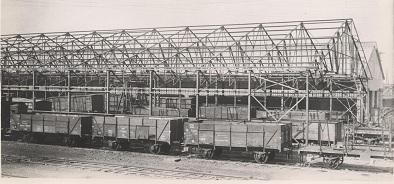 construction 1945 hangar anglais longueau