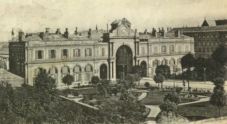 Amiens gare 1847 reduite